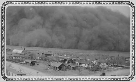 Rolla, Kansas, Dust Storm 1935 From the U.S. National Archives, NAID 195691