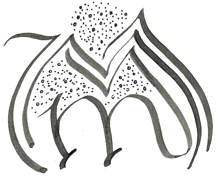 Calligraphy Rhobin 39 S Garden