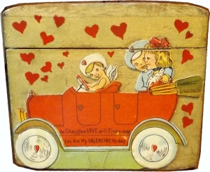side of Valentine box